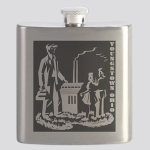 Aley book inverted BW Flask