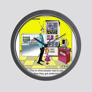 5835_science_cartoon Wall Clock