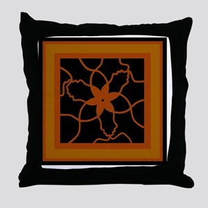 Like Minds sq-blk Throw Pillow