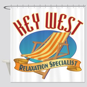 Key West Relax - Shower Curtain