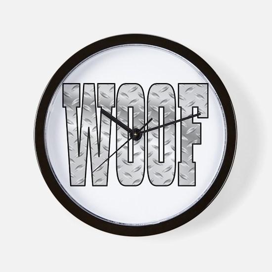 DiamoPnd late Woof Wall Clock