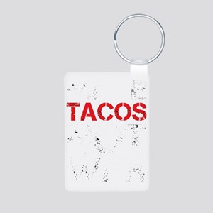 dark tacos Aluminum Photo Keychain
