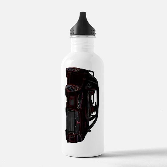 Evo - X - Black-Red De Water Bottle