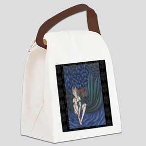 emerald eyes 11x11 200dpi Canvas Lunch Bag