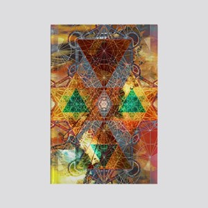 Metatron-Colorscape-Mandala-Poste Rectangle Magnet