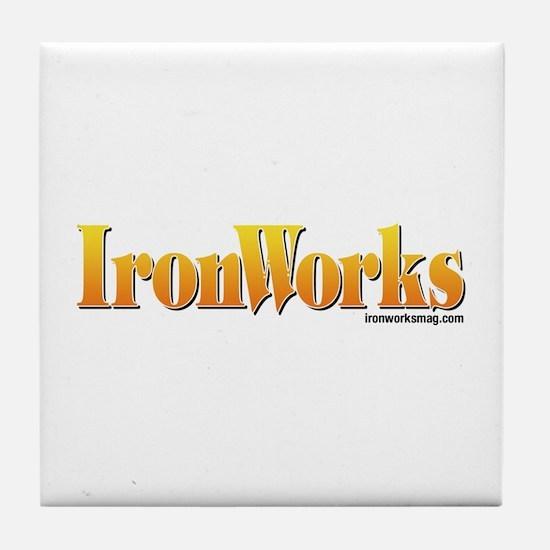 Old School IronWorks Tile Coaster