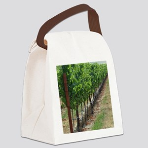 VineyardiPadCover Canvas Lunch Bag