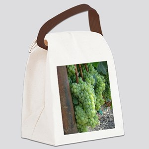 GrapesiPadCover Canvas Lunch Bag