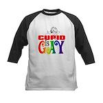 CUPID IS GAY Kids Baseball Jersey