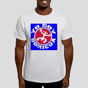 Yo Soy Boricua white-Red Light T-Shirt