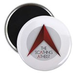 Scathing Atheist Logo Magnets