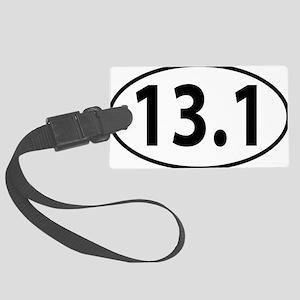 13.1 - half marathon Large Luggage Tag
