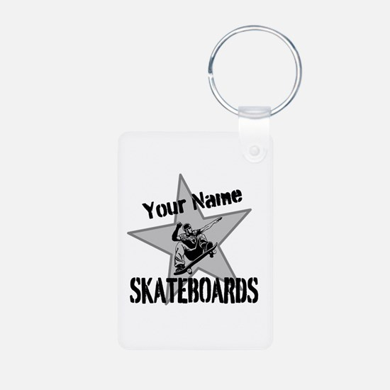 Custom Skateboards Keychains