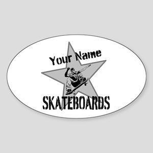 Custom Skateboards Sticker