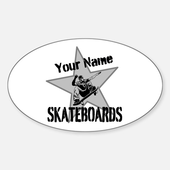Custom Skateboards Decal