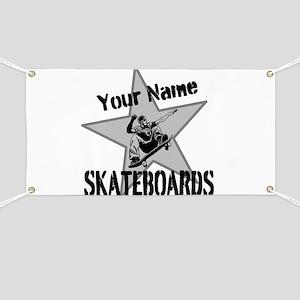 Custom Skateboards Banner