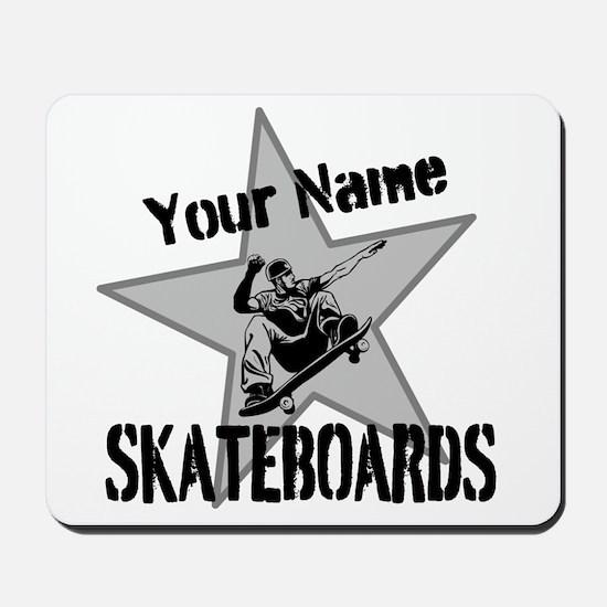 Custom Skateboards Mousepad