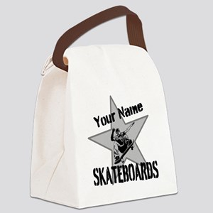 Custom Skateboards Canvas Lunch Bag