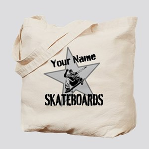 Custom Skateboards Tote Bag