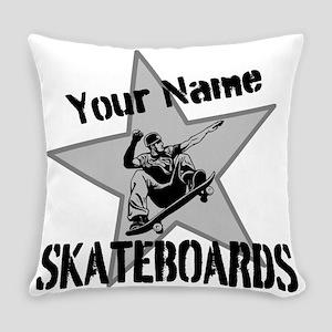 Custom Skateboards Everyday Pillow
