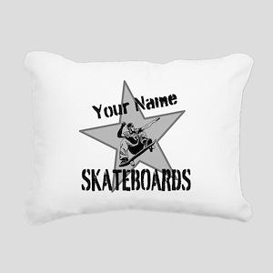 Custom Skateboards Rectangular Canvas Pillow
