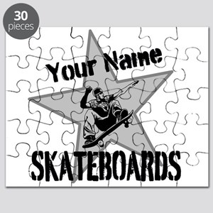 Custom Skateboards Puzzle