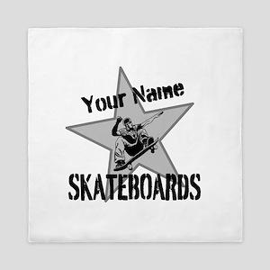 Custom Skateboards Queen Duvet