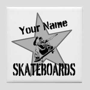 Custom Skateboards Tile Coaster