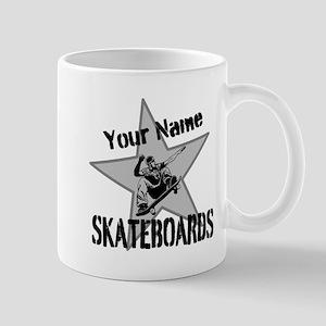 Custom Skateboards Mugs