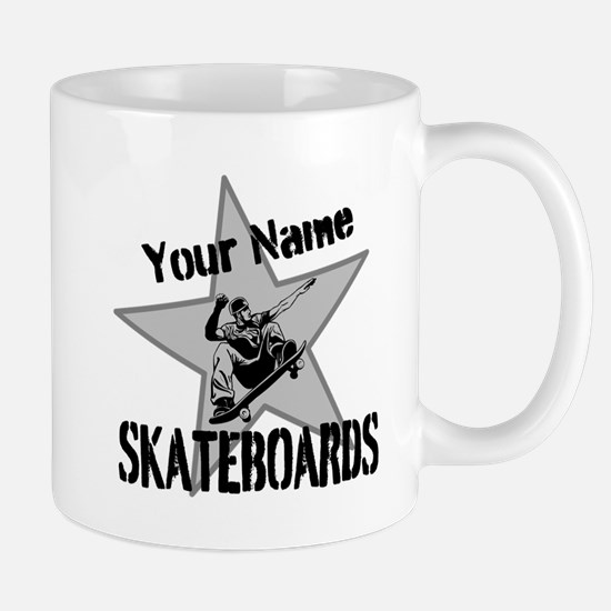 Custom Skateboards Mugs