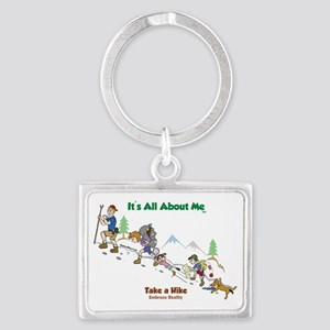 take a hike-FINAL-color2 Landscape Keychain