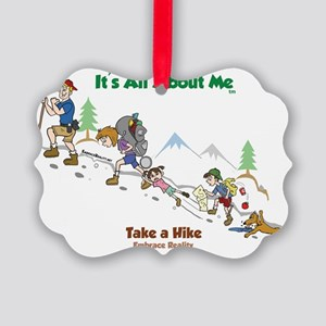 take a hike-FINAL-color2 Picture Ornament