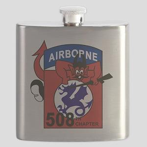 508th PIR Flask