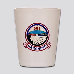 501st airborne squadron Shot Glass