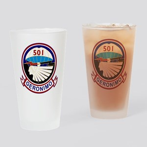 501st airborne squadron Drinking Glass