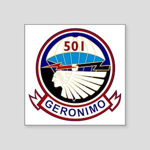 """501st airborne squadron Square Sticker 3"""" x 3"""""""