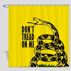 Dont Tread On Me Shower Curtain