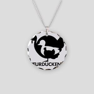 Turducken Necklace Circle Charm