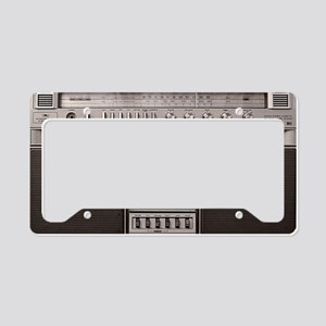 boombox License Plate Holder