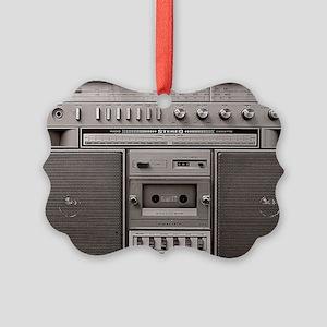 boombox Picture Ornament