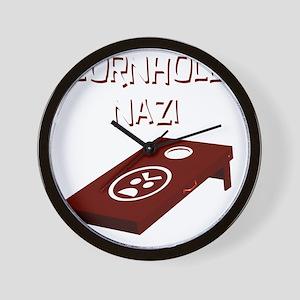 CornholeNazi Wall Clock
