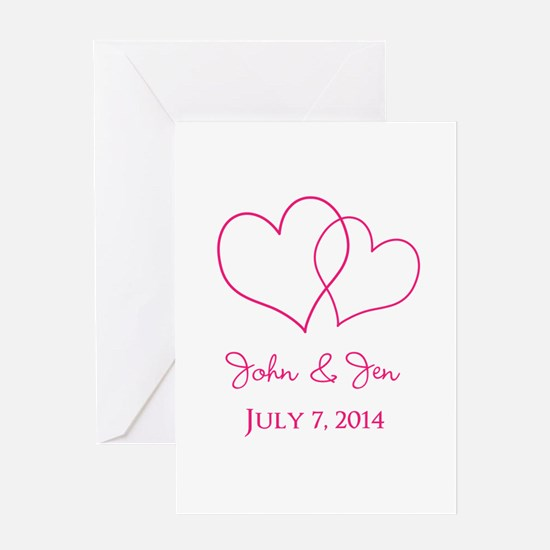 Custom Wedding Favor Greeting Cards