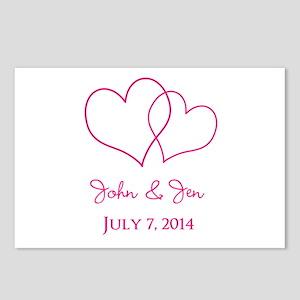 Custom Wedding Favor Postcards (Package of 8)