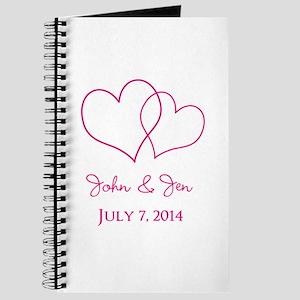 Custom Wedding Favor Journal