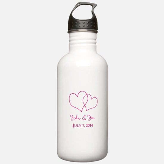 Custom Wedding Favor Water Bottle