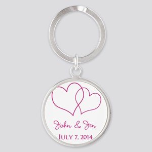 Custom Wedding Favor Keychains