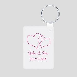 Custom Wedding Favor Keychains
