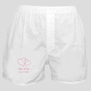 Custom Wedding Favor Boxer Shorts