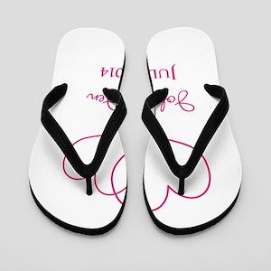 cde1dfdd9eae5 Custom Wedding Favor Flip Flops