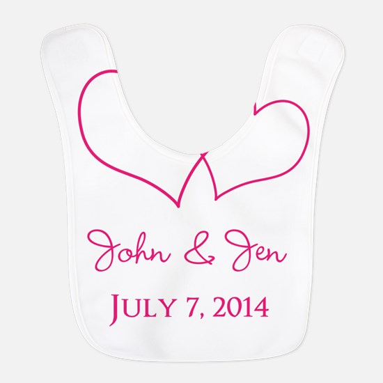 Custom Wedding Favor Bib